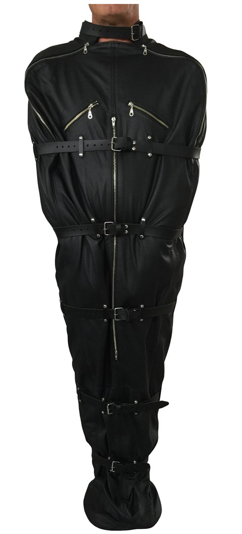BDSM Leder Schlafack Bondage Body Bag